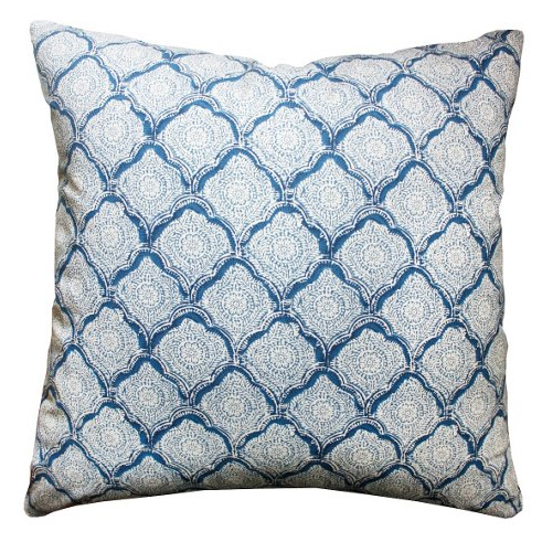 Kravet Mina Light Blue Cushion