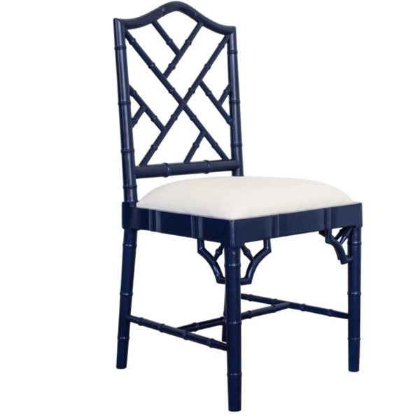 Coloured Chippendale Dining Chair