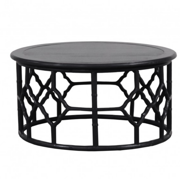 Round Chinois Coffee Table