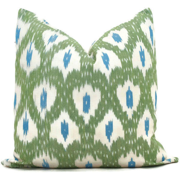 Schumacher Indio Ikat Cushion