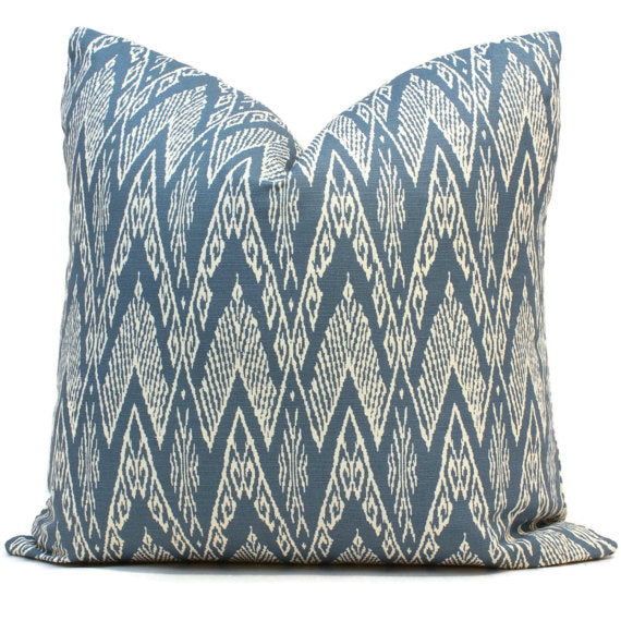 China Seas Raffles Denim Cushion