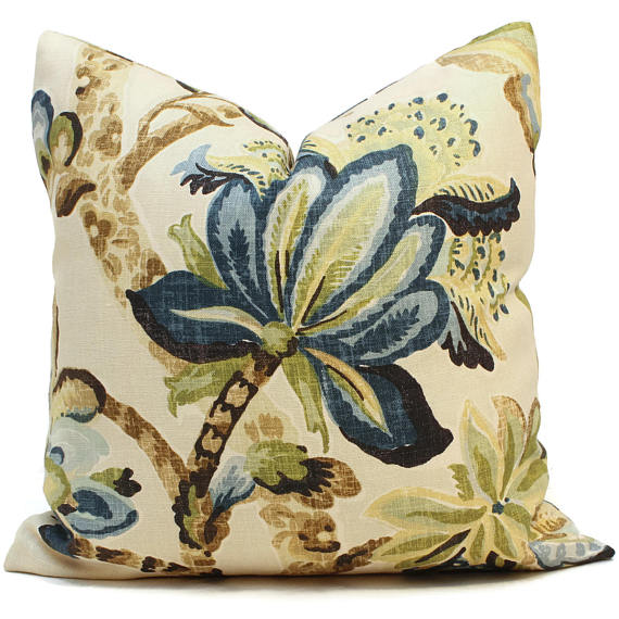 Schumacher Kemscott Manor Cushion
