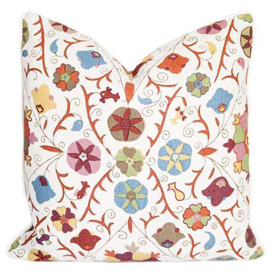 Kathryn Ireland Safi Suzani Cushion