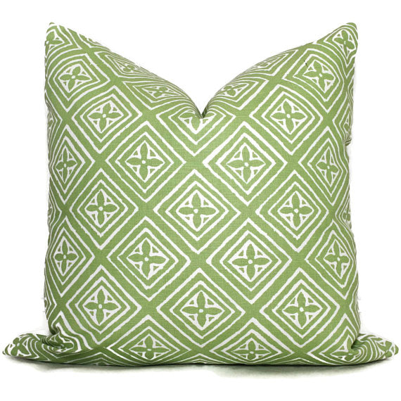 China Seas Fiorentina Green Cushion