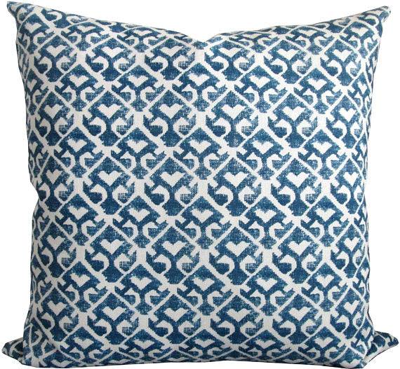 Carolina Irving Tamar Indigo Cushion