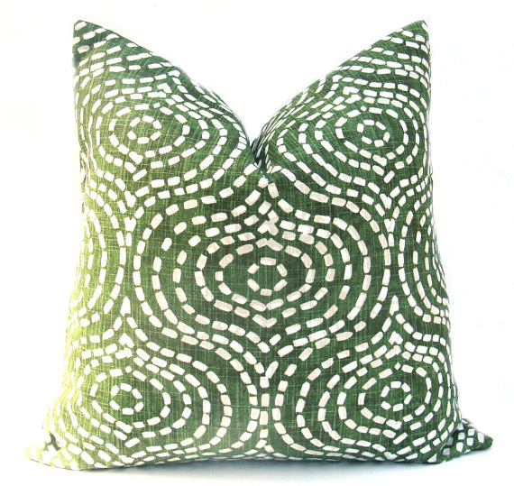 Green Trail Cushion