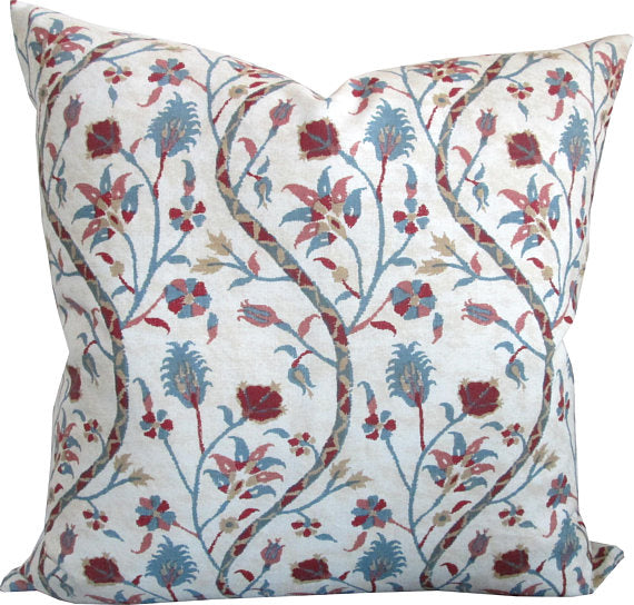 Carolina Irving Kandyli In Rose/Blue Cushion