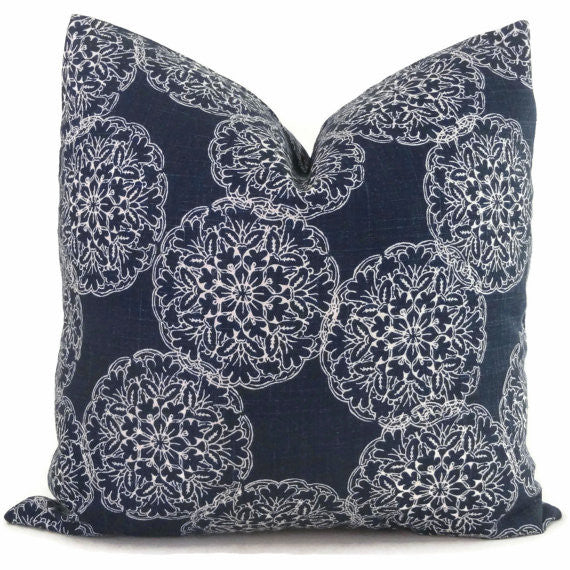 John Robshaw - Danda Cushion Blue Cushion