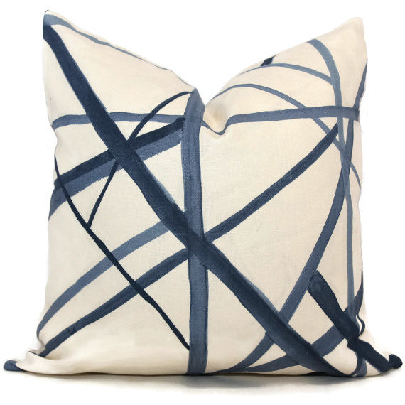 Periwinkle Blue Cushion