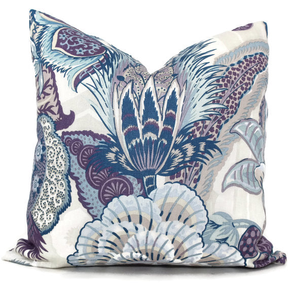 Schumacher Hyacinth Zanzibar Cushion