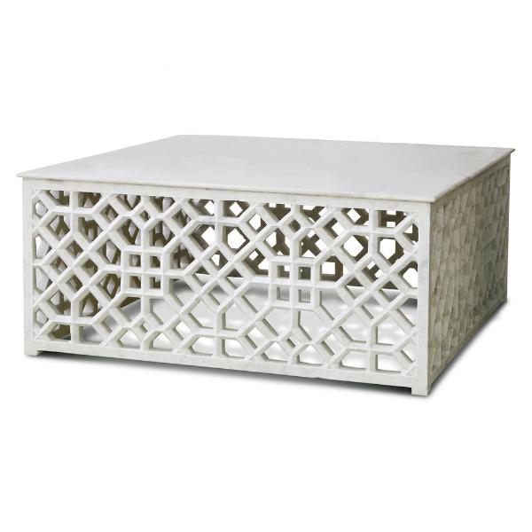 Marble Fretwork Coffee Table