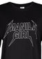 Manila Girl Band Tee (Black)