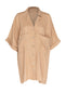 Gustha Shirt Dress (Camel)