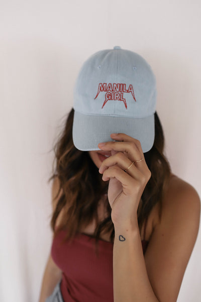 Manila Girl Denim Cap