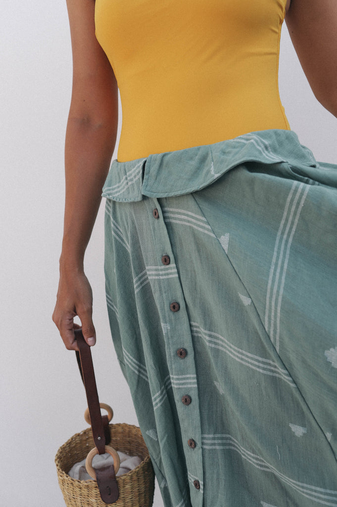 Love Mother Earth Foldover Skirt (Earth)