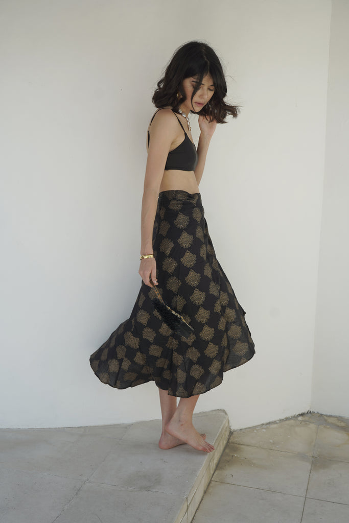 Forever Young Wrap Skirt