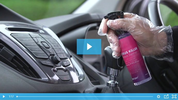 Watch the Sterizen Drivers Kit showreel... now with Virus Killer Spray