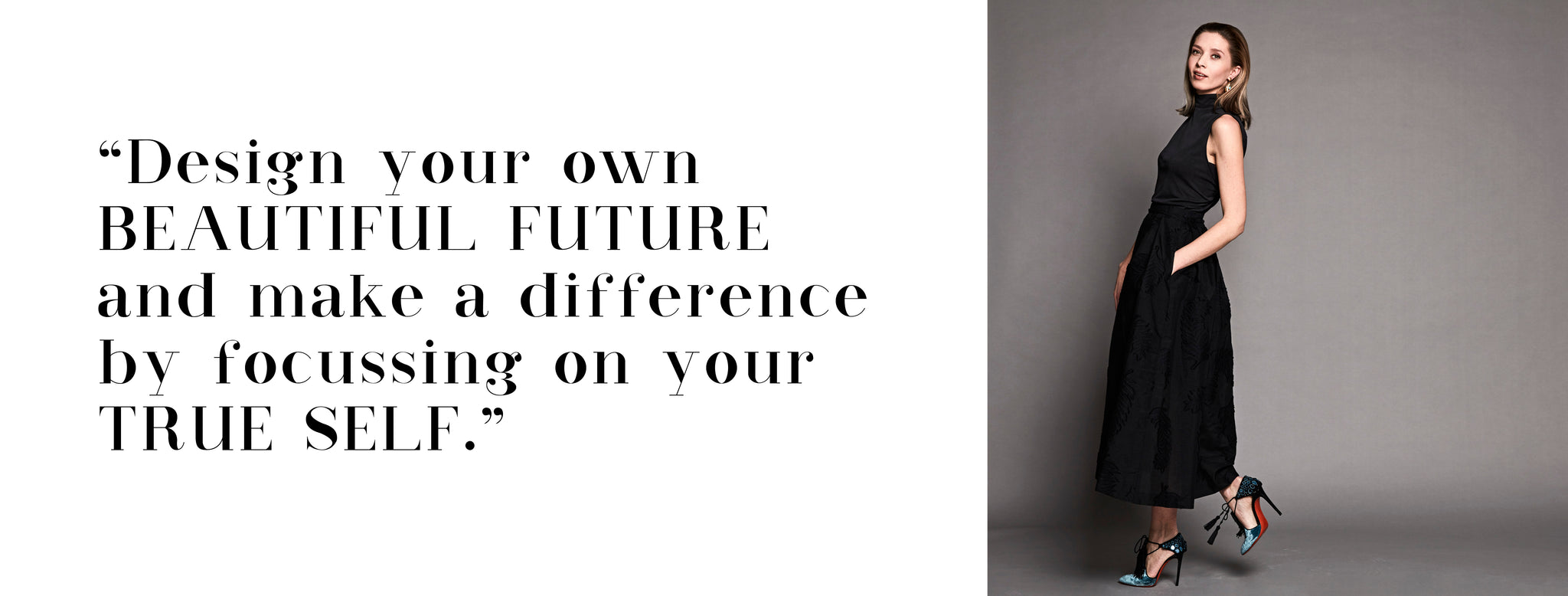 Design your own beautiful future and make a difference by focussing on your true self - Maaike Nieuwenhuis