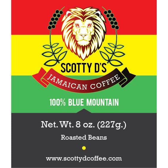 Scotty D's 100% Blue Mountain Coffee
