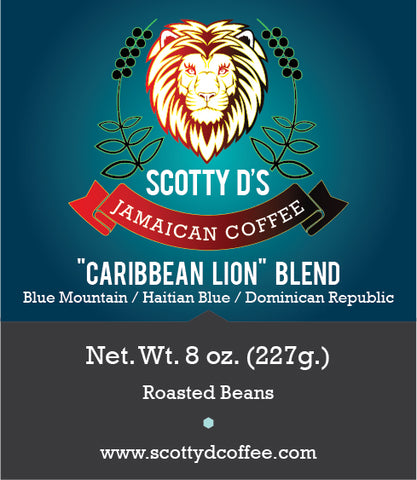 "Scotty D's ""Caribbean Lion"" Blend"