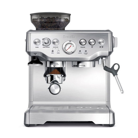 Espresso Machine w/ Semiautomatic 15Bar Grinder & Steamer