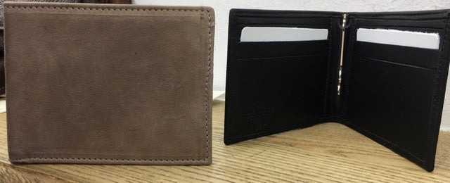 Men's handmade leather wallets, define your style