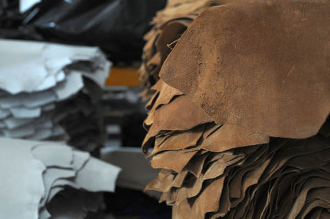 From tannery to the shop. Transforming leather materials