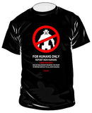 Humans Only - GeekShirts