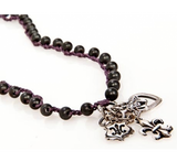 """Royal Purple"" Necklace - Roman-Glass-Jewelry.com  - 2"