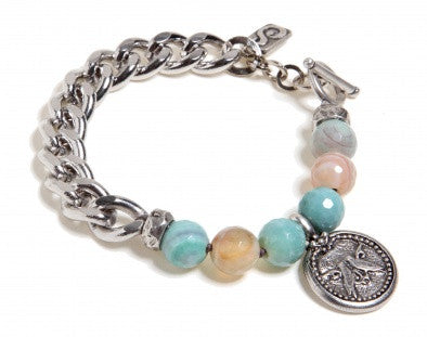 Amazonite Bracelet - Roman-Glass-Jewelry.com