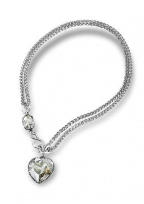 """Crystal Love"" Necklace - Roman-Glass-Jewelry.com"