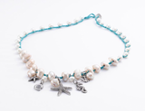 """Beauty of the Sea"" Necklace - Roman-Glass-Jewelry.com  - 1"