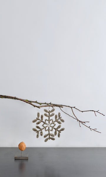 Beaded tree decoration