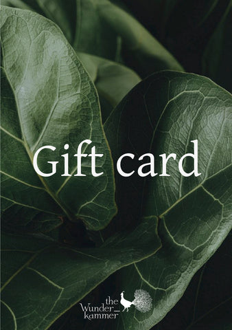 The Wunderkammer gift voucher