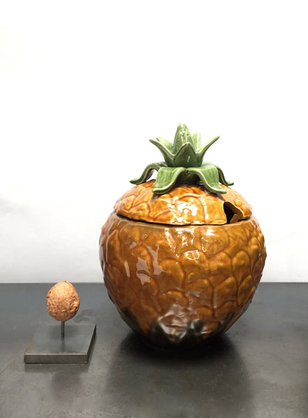 Ceramic pineapple bowl