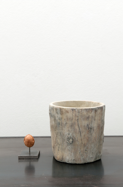 Tree trunk vase (small)