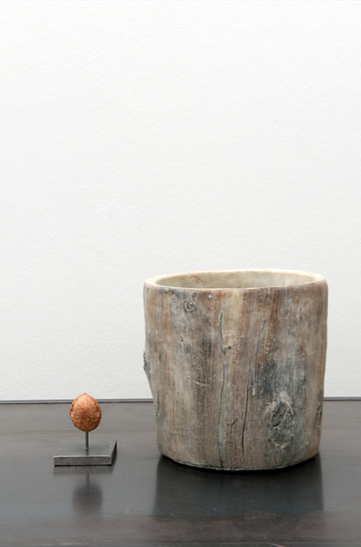 Tree trunk vase (medium)