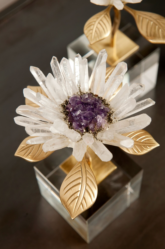 Crystal flower single