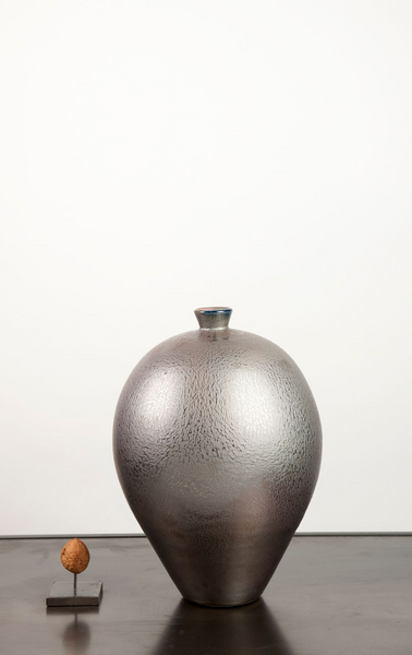 Mobach vase large silver