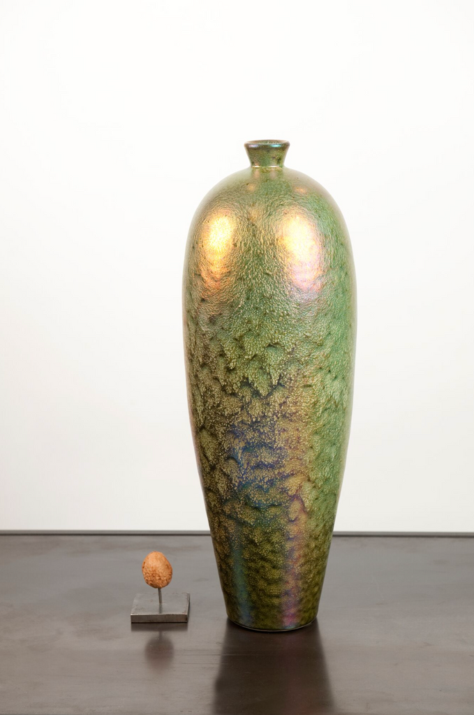 Mobach bronze tall vase