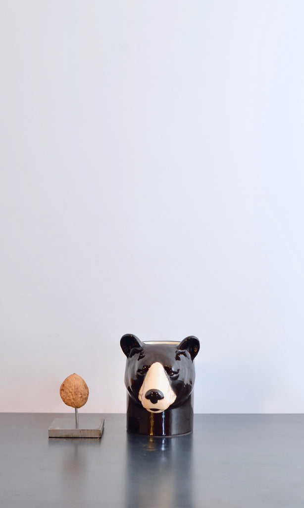Bear pot ceramic