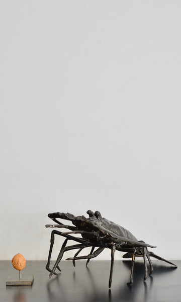 Lobster sculpture bronze