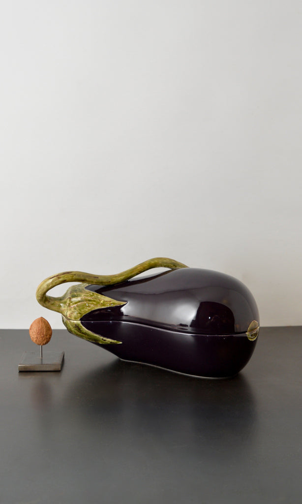 Aubergine bowl ceramic