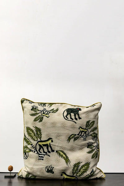 Cushion - Ardmore Monkey Cushion Beige