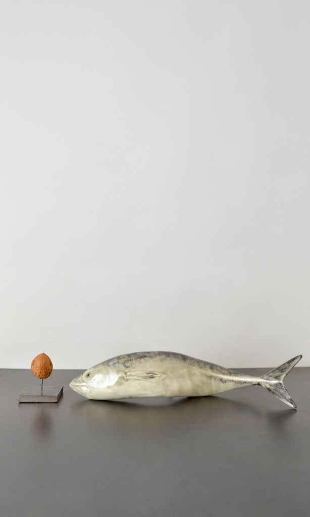 Mackerel fish ceramic