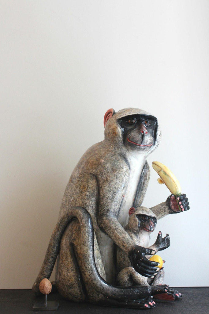 Object - Ardmore Monkey With Young