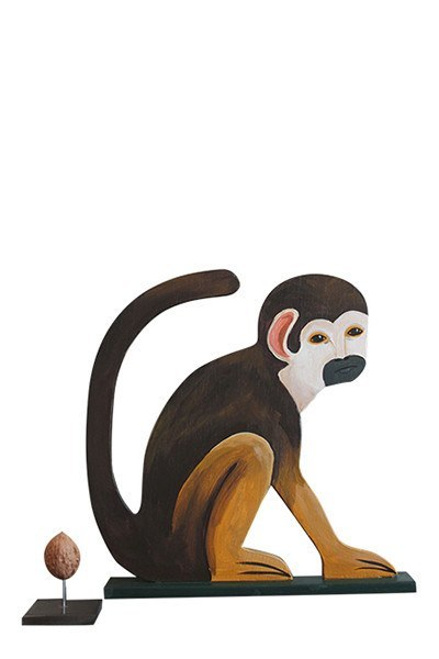 Object - Wooden Monkey