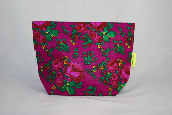 Dark Fuschia Clutch Bag