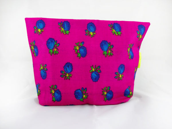 Bright Fuschia Clutch Bag