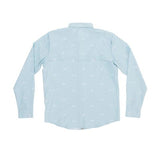 Salty Crew MARKETS DUSTY BLUE L/S TECH WOVEN Shirt